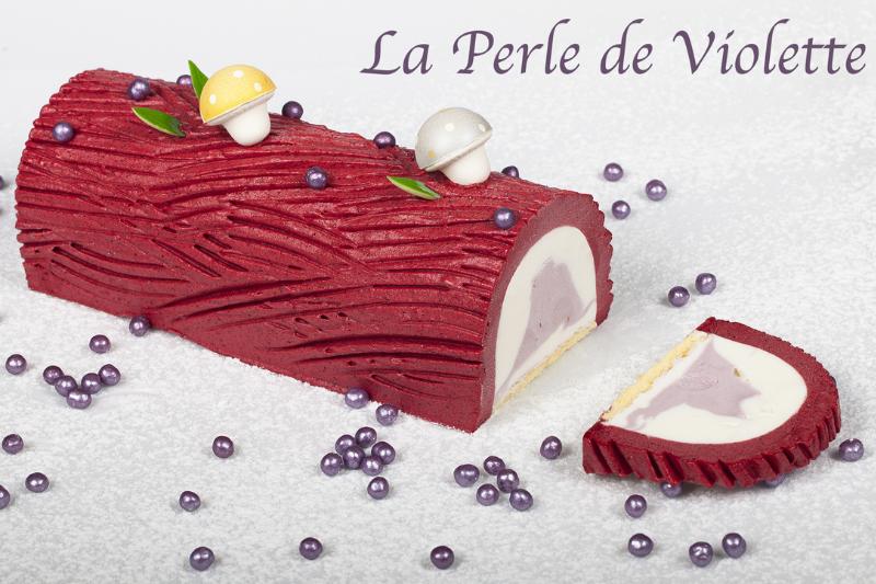 glace perle de violette